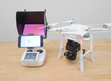 Phantom 3 Thermal with Smart Gimbal+control system