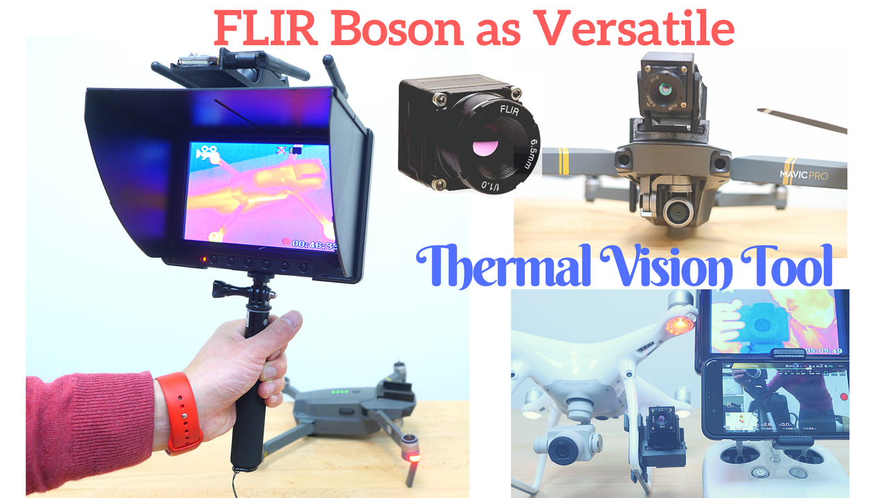 FLIR Boson as Powerful Thermal Vision Camera-Youtube Thumb