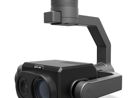 "Thermal Optical ""Zoom"" with FLIR VUE TZ20"