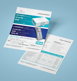 Product Pricing Flyer