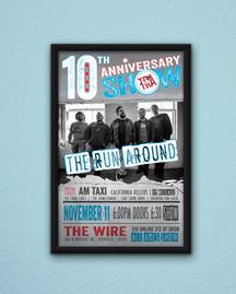 10 Yr Anniversary Show Poster