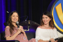 Summer Glau & Jewel Staite