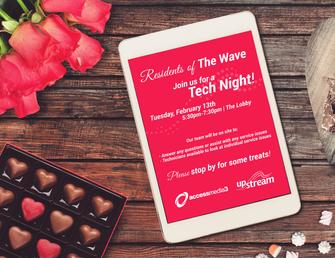 Tech Night Flyer