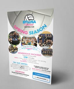 Spring Season Flyer