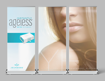Roll Up Banner Set