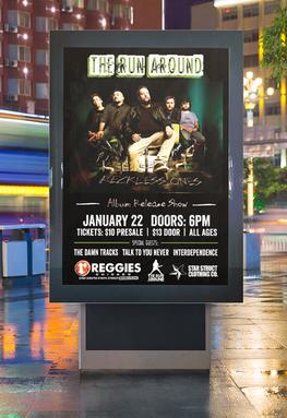 Album Release Show Poster