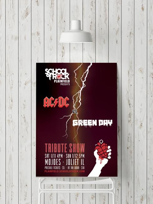 AC/DC vs. Greenday Show