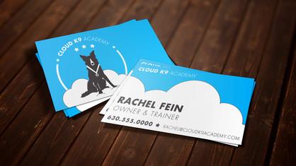 Cloud K9 Academy Business Card