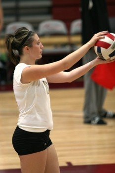 Playing Competitive Volleyball