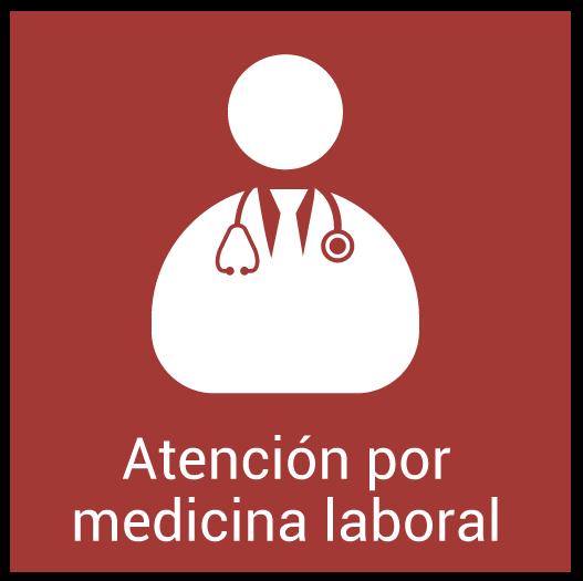 Atención por Medicina Laboral