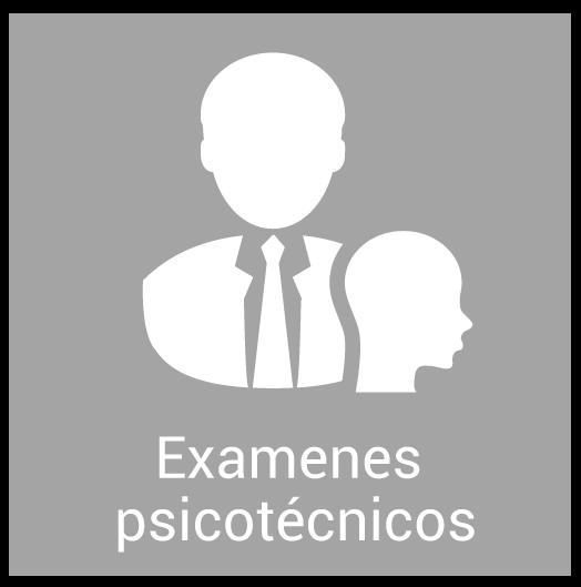 Exámenes psicotécnicos