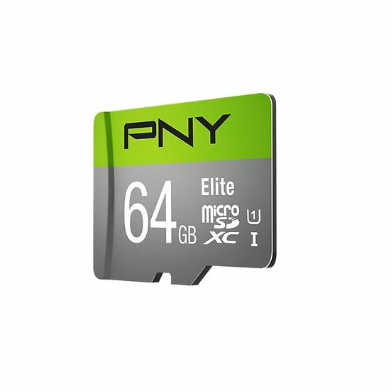 Memoria Micro Sd Pny Elite-X U3  64 Gb Clase 10