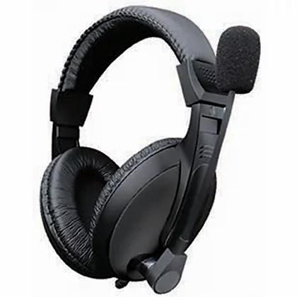 Audifonos Diadema Star Tec St-Hp-81 Plug 3.5 Mm Negro Con Micrófono