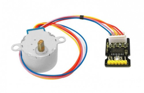 Módulo controlador de motor de paso, incluye motor para Arduino, marca Keyestudi