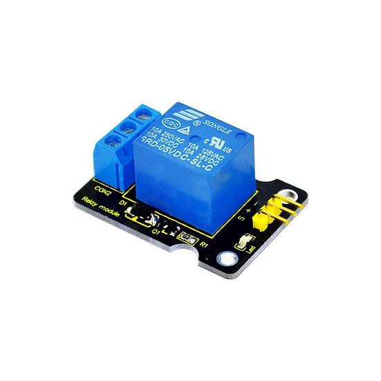 Módulo Relevo simple 5V para Arduino, marca Keyestudio