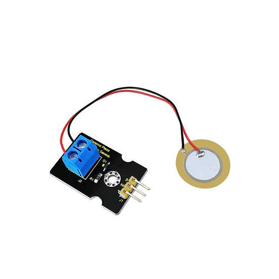 Módulo sensor de vibración con piezoeléctricos cerámicos para Arduino, marca Key
