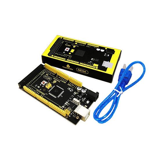 Placa base  2560 R3 compatible con Arduino, marca Keyestudio