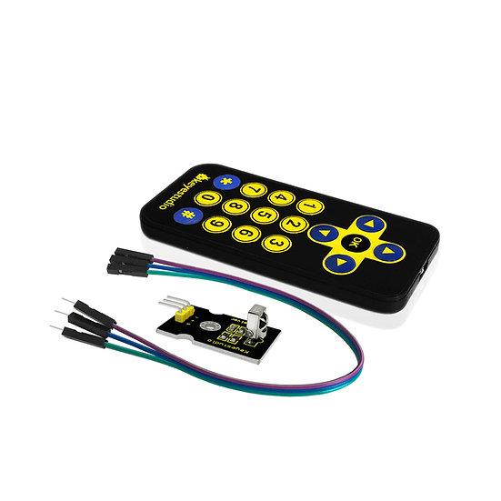 Módulo Control remoto inalámbrico infrarrojo para Arduino, marca Keyestudio