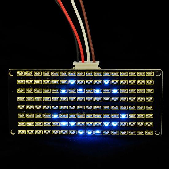 Módulo LED Matricial 8x16 para Arduino, marca Keyestudio