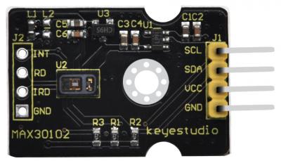 Módulo Sensor de frecuencia cardíaca MAX30102 para Arduino, marca Keyestudio