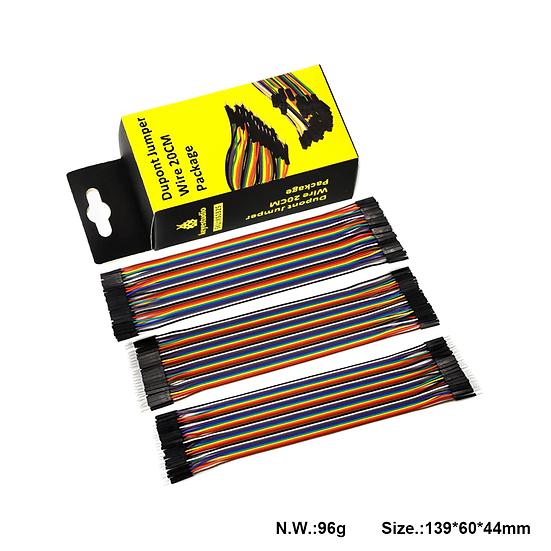 cables de conexión (M/M, M/H, H/H) de 20 cm Dupont para Arduino, marca Keyestudi