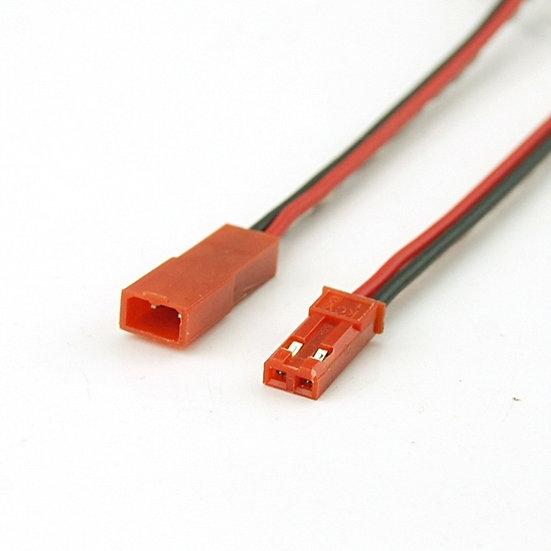 Conector Macho / hembra con terminal tipo SM y cable desnudo