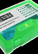 Kit de sensores con placa MEGA2560, extensión V1, Sensores, cables e inst