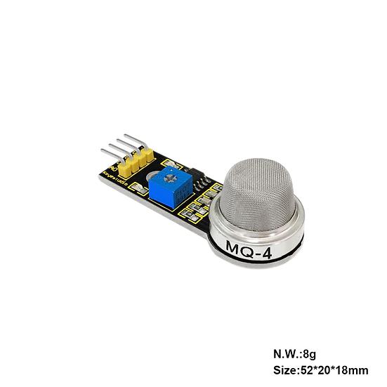 Módulo Sensor de gas natural y metano para Arduino, marca Keyestudio