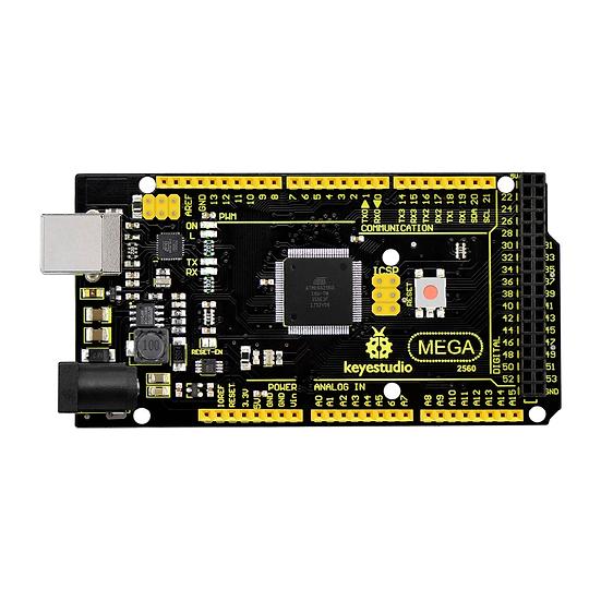 Placa Mega 2560 R3 avanzada para Arduino, marca Keyestudio