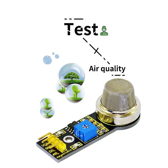 Módulo Sensor de calidad del aire para Arduino, marca Keyestudio