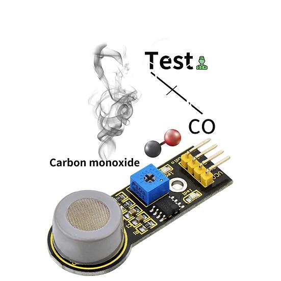 Módulo Sensor de monóxido de carbono para Arduino, marca Keyestudio