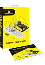 Kit super educativo sin placa para Arduino, marca Keyestudio