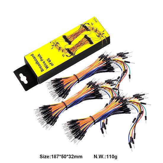 paquete de 65 cables para Arduino, marca Keyestudio