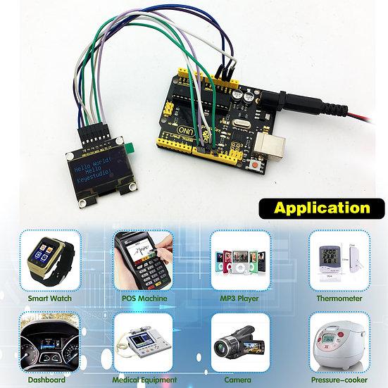 Módulo OLED de 1.3 pulgadas para Arduino, marca Keyestudio