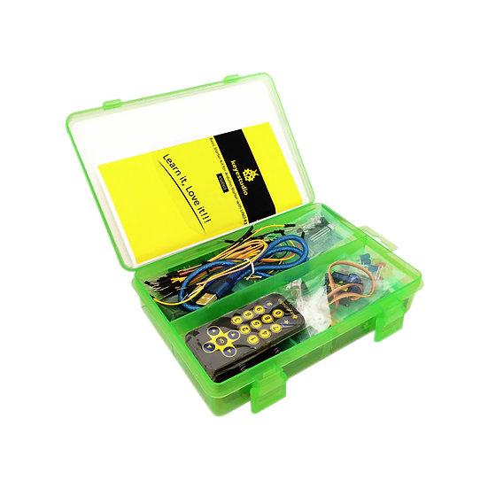 Kit básico de inicio con placa UNO R3 para Arduino, marca Keyestudio