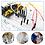 Thumbnail: fuente de poder 3.3/5 V, tabla de circuitos 830 huecos y paquete de 65 cables pa