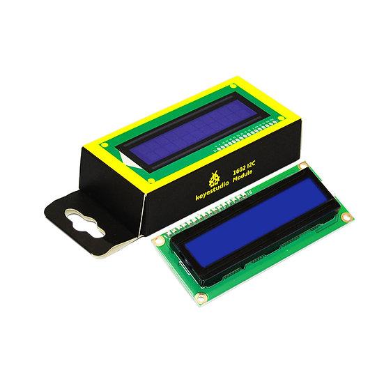 Módulo LCD 1602 I2C para Arduino, marca Keyestudio