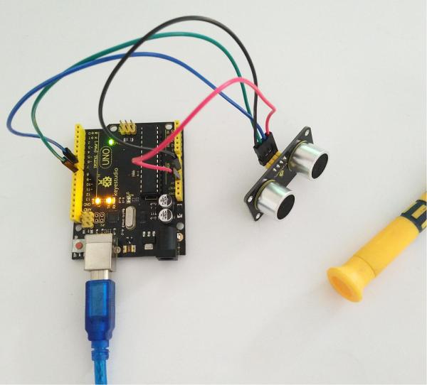 Módulo Sensor ultrasónico de distancia y presencia (Radar) para Arduino, marca K