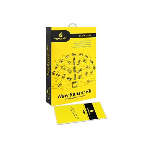 Kit de sensores 37 en 1 para Arduino, marca Keyestudio