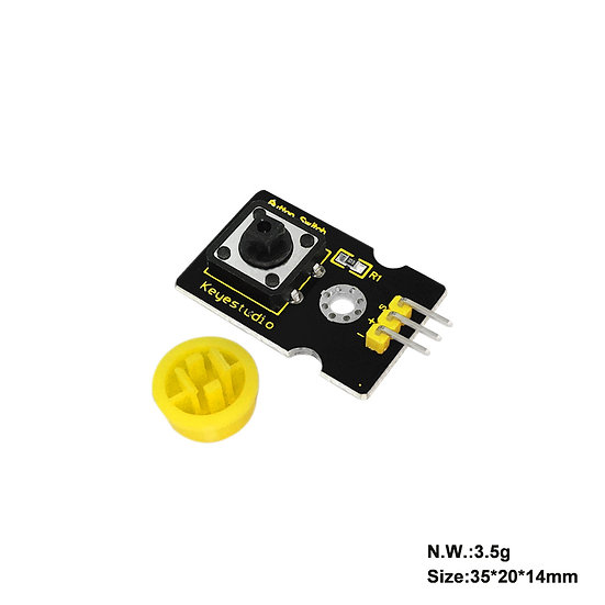 Módulo Pulsador digital para Arduino, marca Keyestudio
