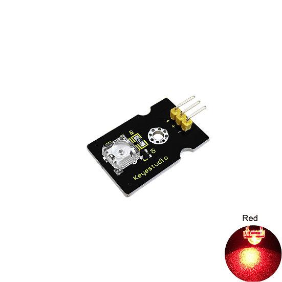Módulo LED rojo para Arduino, marca Keyestudio