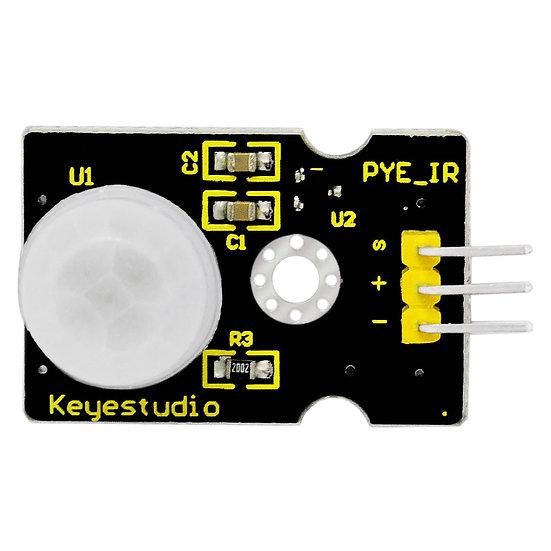 Módulo Sensor PIR de movimiento para Arduino, marca Keyestudio