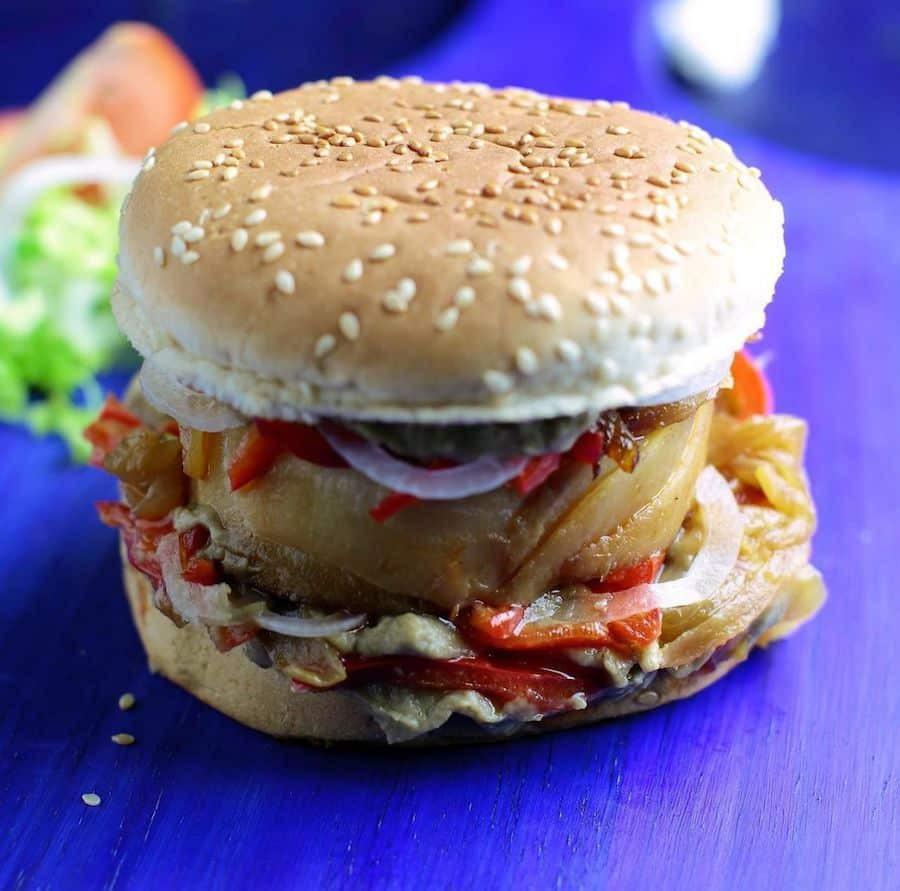 burger de poisson Philippe  Etchebest