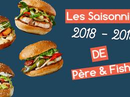 Burger Poisson: Nos recettes Saisonnières en 2018-2019