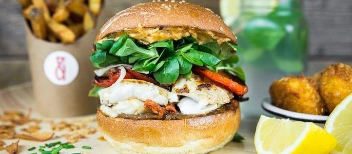 burger saisonnier le corsé pere et fish
