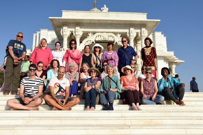 Kryon group at Birla Temple, Jaipur