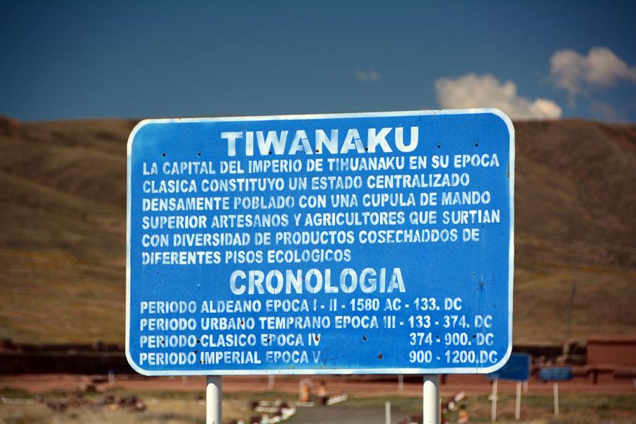 Tiahauanaco, Bolivia