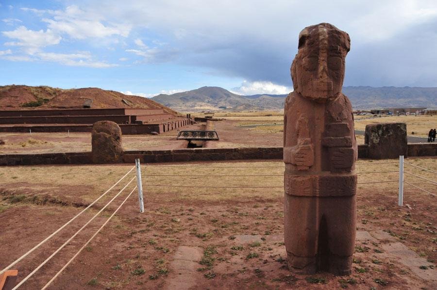Stela 8 Tiahuanaco, Bolivia