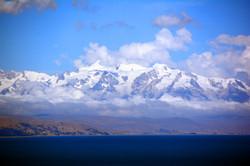 View from Island of the Sun, Lake Ti
