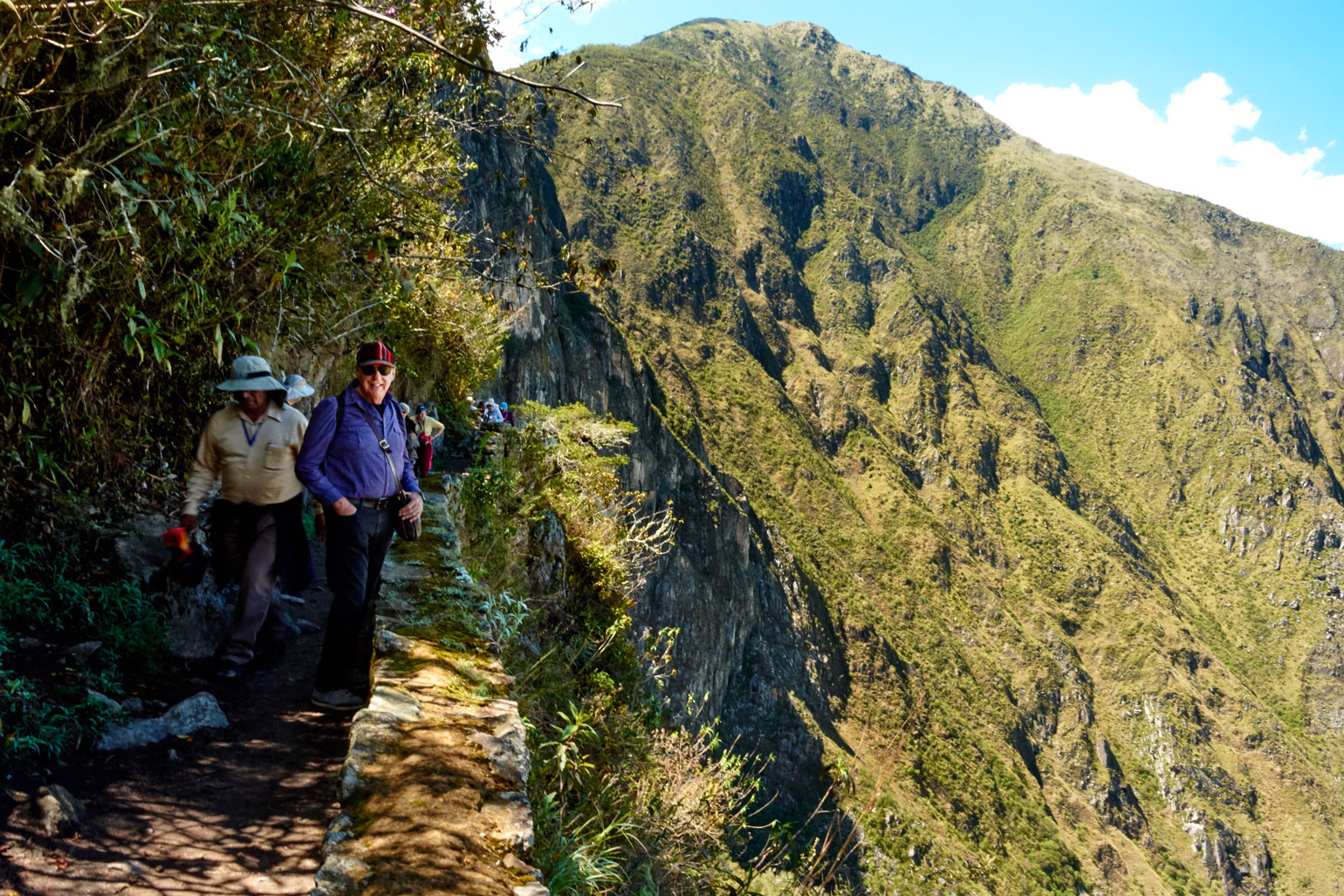 Heading to the Inca Bridge